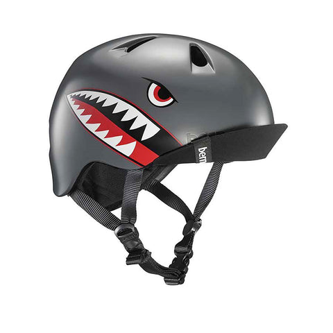 Bern Nino Graphic Helmet with Flip Visor - Boys