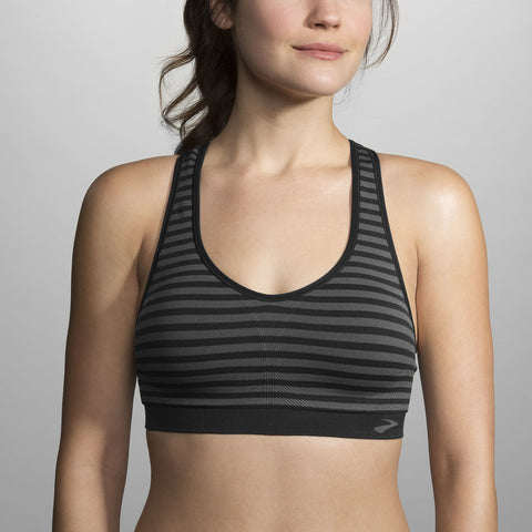 Brooks JustRight Racer Bra - Women's