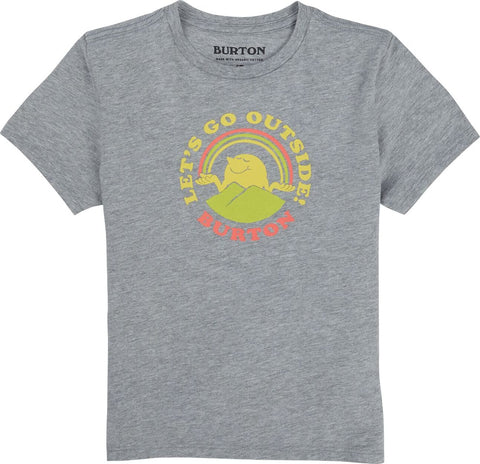 Burton Retro Mountain Organic Short Sleeve T-Shirt - Toddler
