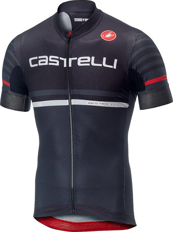514d1144072 Loading spinner Castelli Free Ar 4.1 Jersey FZ - Men's Black - Dark Grey