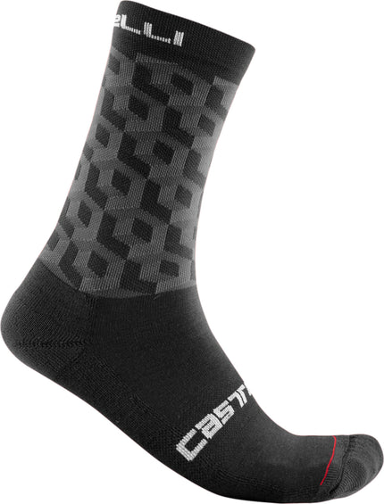 Castelli Cubi 18 Sock - Men's