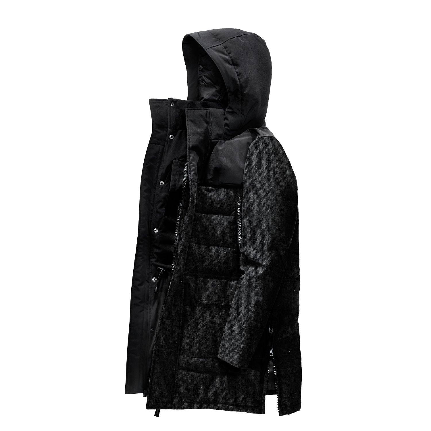canada goose black label difference