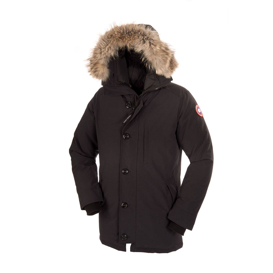 canada goose jacket mens fur