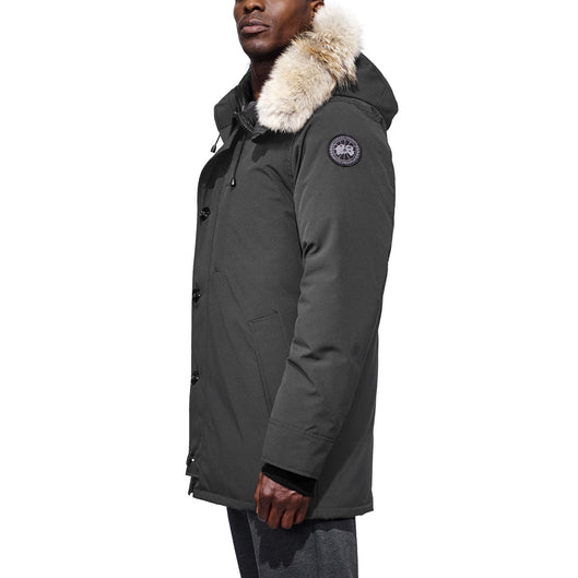 canada goose graphite vs black