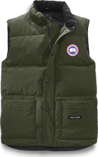 26f689e238347 lazy-loading-gif Canada Goose Freestyle Crew Vest - Men s Military Green