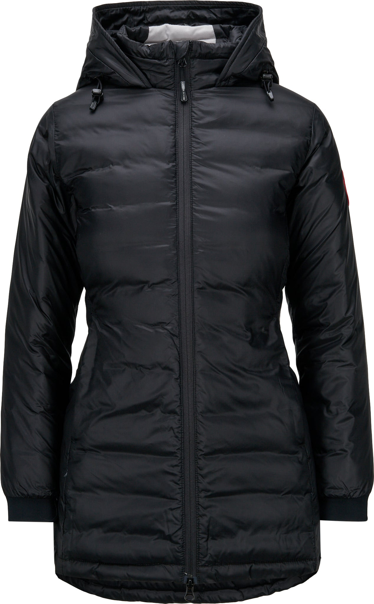 4bc962b7f27f8 Camp Down Hooded Jacket - Fusion Fit - Women s Black - Black ...