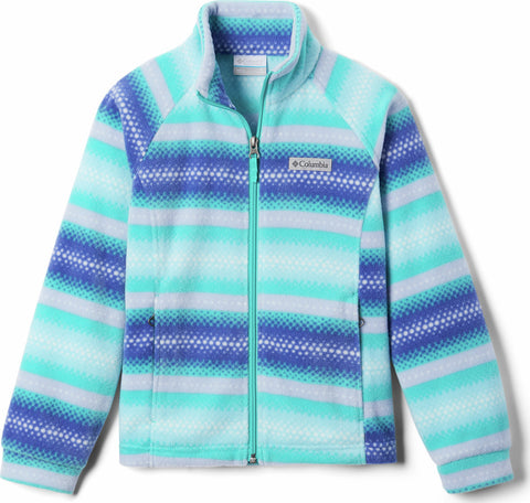 Columbia Benton Springs II Printed Fleece Jacket - Girls