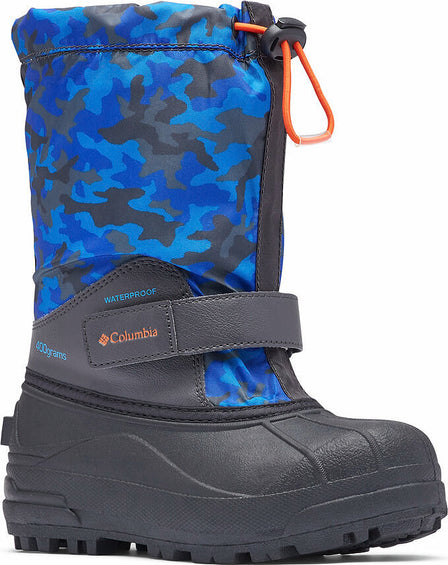 Columbia Powderbug Forty Print Boots - Little Kids