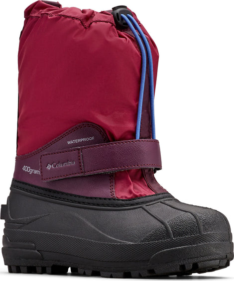 Columbia Powderbug Forty Waterproof Boots - Big Kids