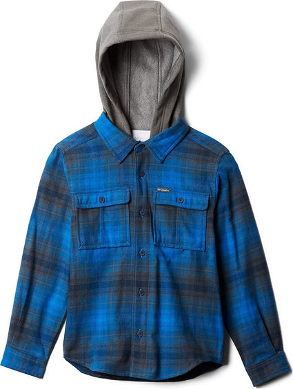 Columbia Boulder Ridge Flannel Hoodie - Youth