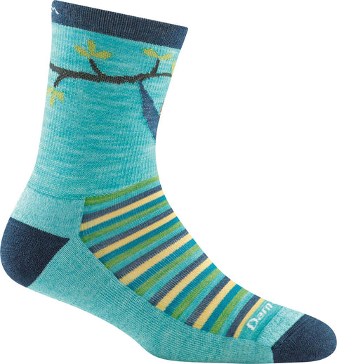 Darn Tough Lazy Daze Micro Crew Lightweight With Cushion Socks - Kids