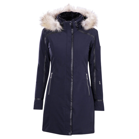 Descente Women's Ruby insulated Coat with Fur