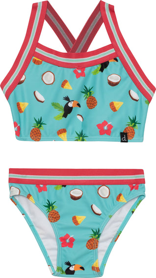 Deux par Deux Toucan 2 Pieces Swimsuit - Girls