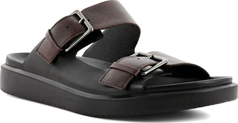 Ecco Flowt LX Buckle Slides - Men's