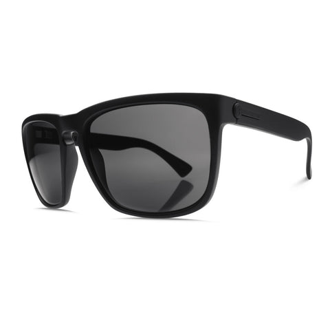 Electric Knoxville XL - Matte Black - Melanin Grey Lens