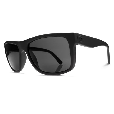 Electric Swingarm Sunglasses - Matte Black Frame - M1 Grey Polarized Lens