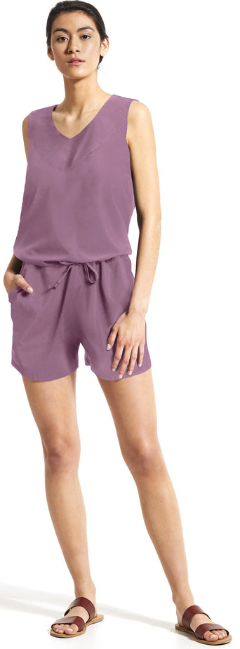 9c84fa17c2a Loading spinner FIG Clothing ACE Romper - Women's Purple