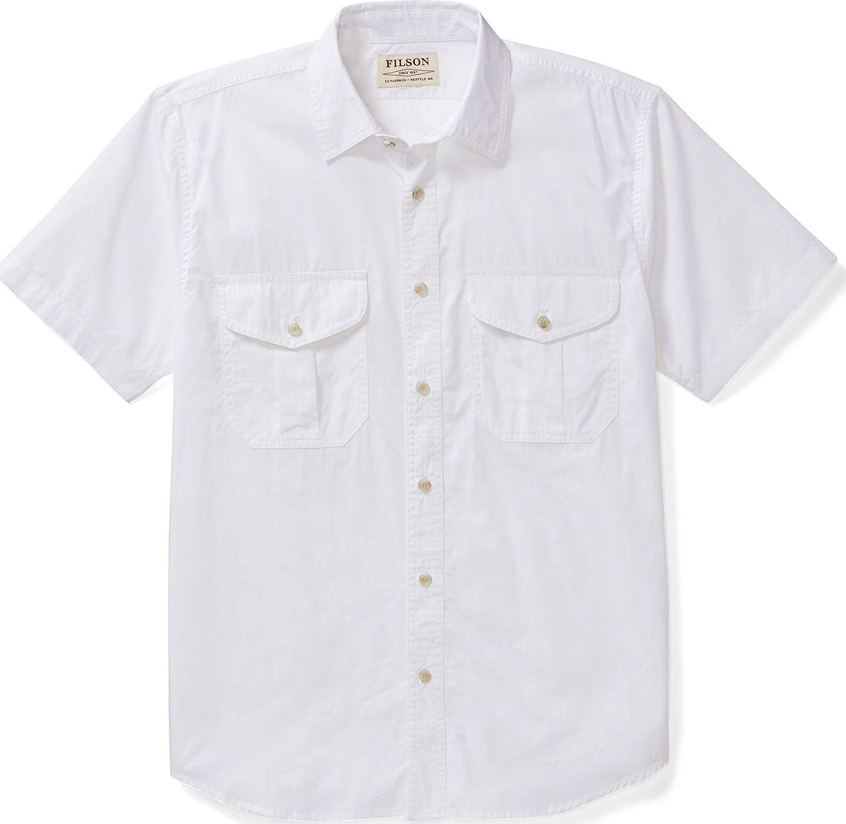 4e4c91bb1d746 Filson Short Sleeve Feather Cloth Shirt - Men s