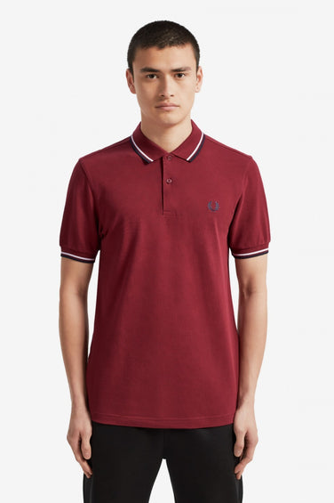 Fred Perry Slim Fit Twin Tipped Shirt - Men's