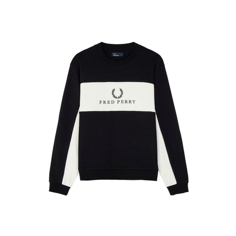 Fred Perry Piped Sweatshirt - Men's