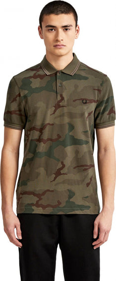 Fred Perry Camouflage Polo Shirt - Men's