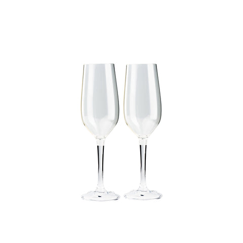 GSI Outdoors Nesting Champagne Flute Set
