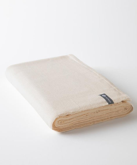 Halfmoon Cotton Yoga Blanket
