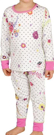 Hot Chillys Midweight Crewneck & Bottom Set - Toddler