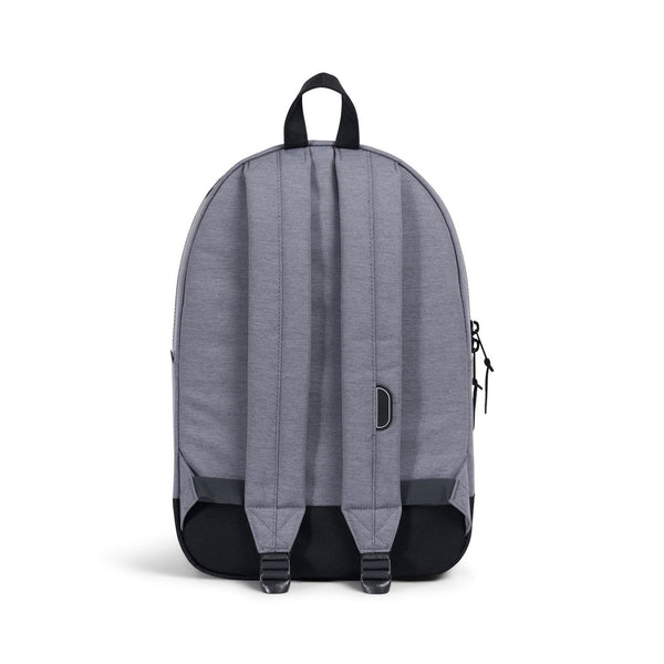 1f0029735e Herschel Supply Co. Settlement Backpack Mid Grey Crosshatch - Black - Light  Grey Crosshatch