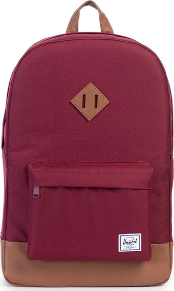 13d5ced47cc lazy-loading-gif Herschel Supply Co. Sac à dos Heritage Windsor Wine - Tan  Synthetic Leather