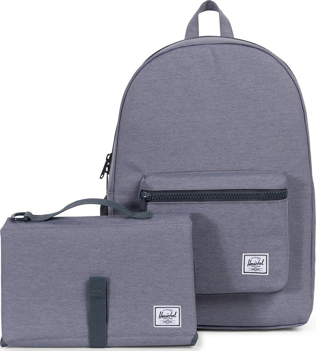 291b2445732b ... Settlement Sprout Backpack - Kid s Mid Grey Crosshatch ...