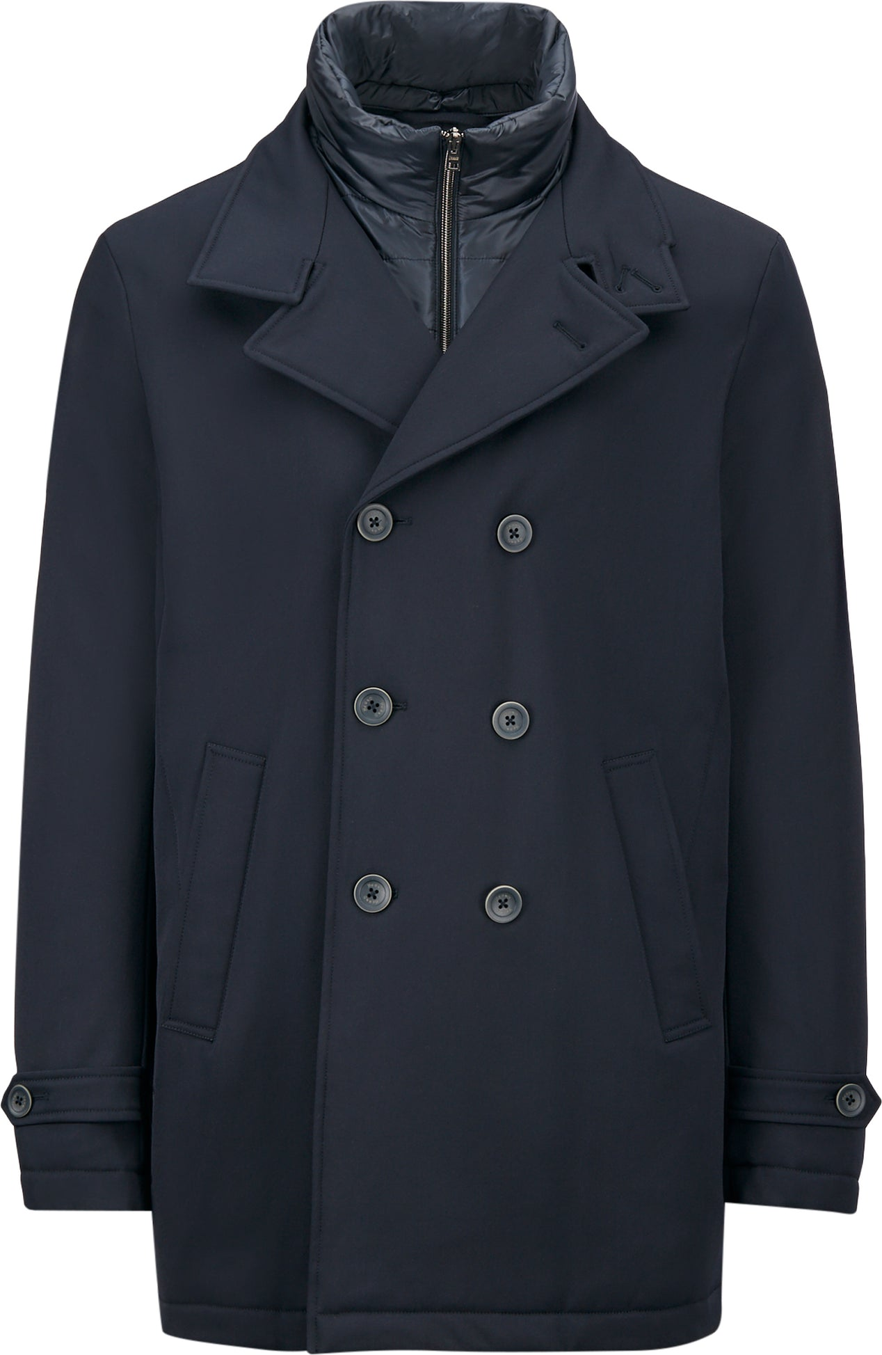 60% discount super cheap compares to authorized site Herno Storm System Wool Peacoat - Men's