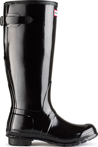 Hunter Original Back Adjustable Gloss Boots - Women's