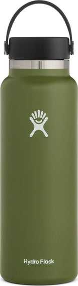 Hydro Flask Wide Mouth Bottle With Flex Cap - 40 Oz