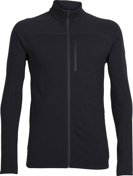 Icebreaker Mt Elliot Long Sleeve Zip - Men's