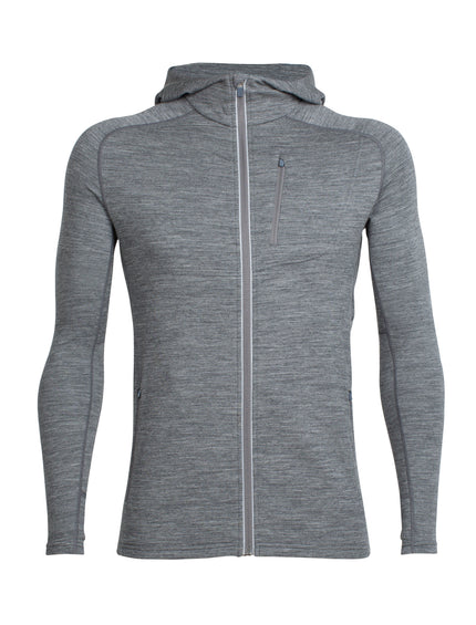 Icebreaker Quantum Long Sleeve Zip Hood - Men's