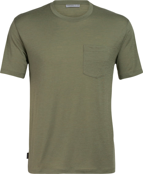 Icebreaker Ravyn Short Sleeve Pocket Crewe - Men's