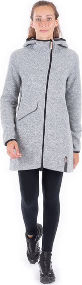 Indygena Naoko Long Full Zip Hoodie - Women's