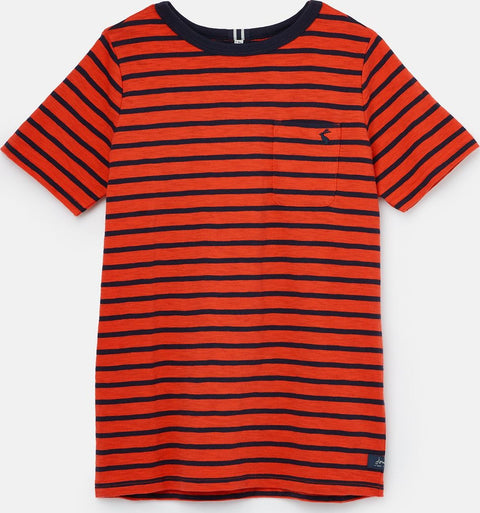 Joules Laundered Stripe T-Shirt 1-12 years - Boys