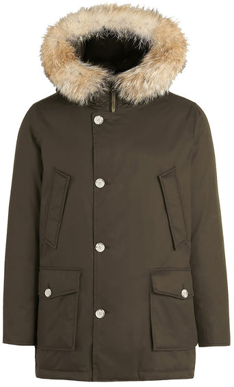 Woolrich John Rich & Bros Men's Laminated Cotton Parka HC
