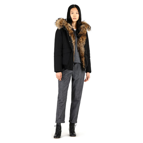 Woolrich John Rich & Bros Women's Military Down Bomber Jacket