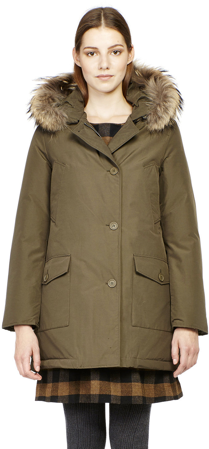 competitive price 55db3 c78d4 Woolrich John Rich & Bros Women's Arctic DF Down Parka