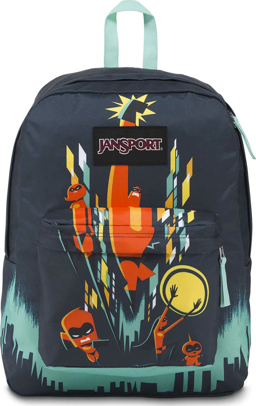 22c14766426 ... Incredibles High Stakes Backpack - 25L Incredibles Family Cityscape ...
