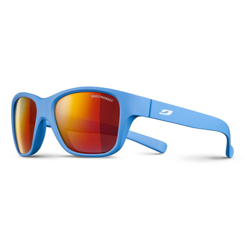 Julbo Turn Sunglasses - Mat Blue - Spectron3 CF Red ML Lens