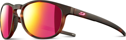 Julbo Elevate - Brown Tortoiseshell-Pink - Spectron 3 CF Smoke Multilayer pink Lens