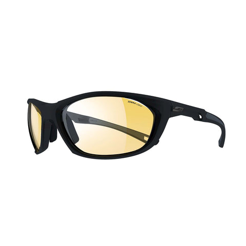 Julbo Race 2.0 Speed Sunglasses - Black-Grey - Zebra -Yellow-Brown Lens