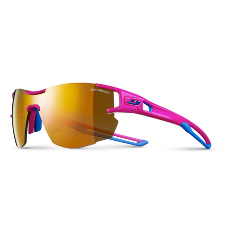 Julbo Aerolite Sunglasses - Pink - Blue Cyan - Spectron3CF Orange ML Lens