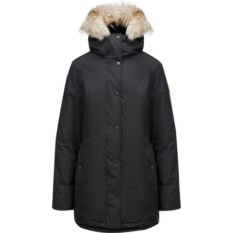 Kanuk Mont-Royal Jacket With Coyote Fur - Women's