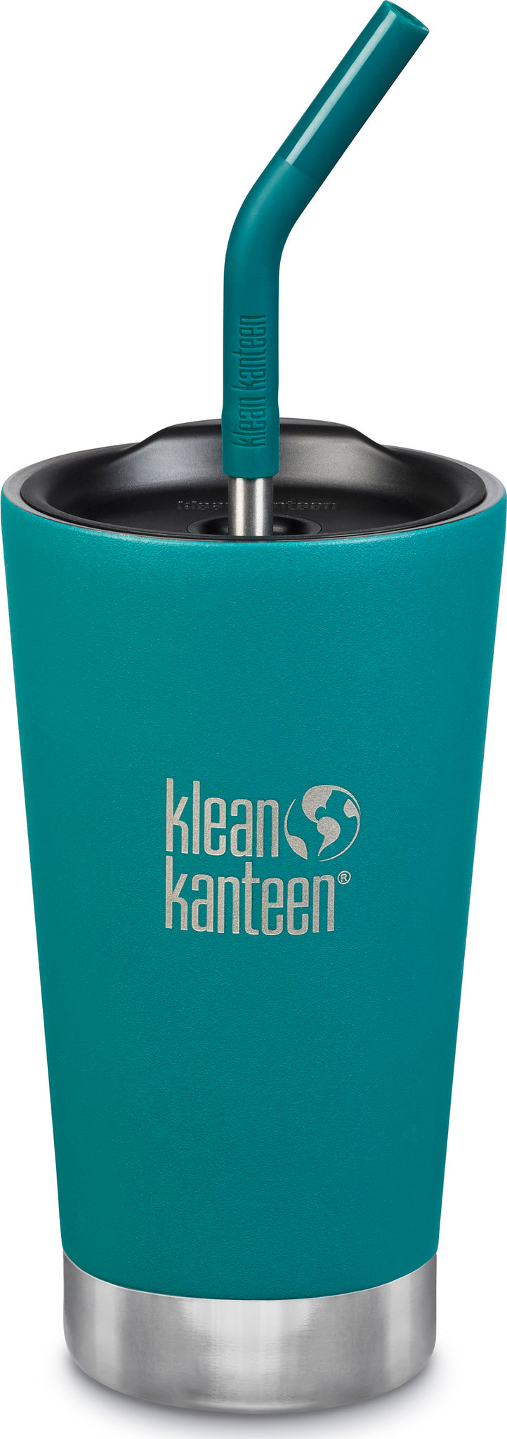 33cfbec34eb ... Klean Kanteen Insulated Tumbler 16oz - Straw Lid and Straw Emerald Bay  ...