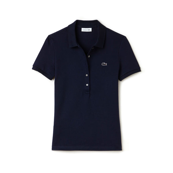 f75dd60e56 Lacoste Slim Fit Stretch Mini Cotton Piqué Polo - Women's | Altitude Sports